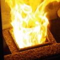 ペレットストーブの燃焼皿は消耗品です